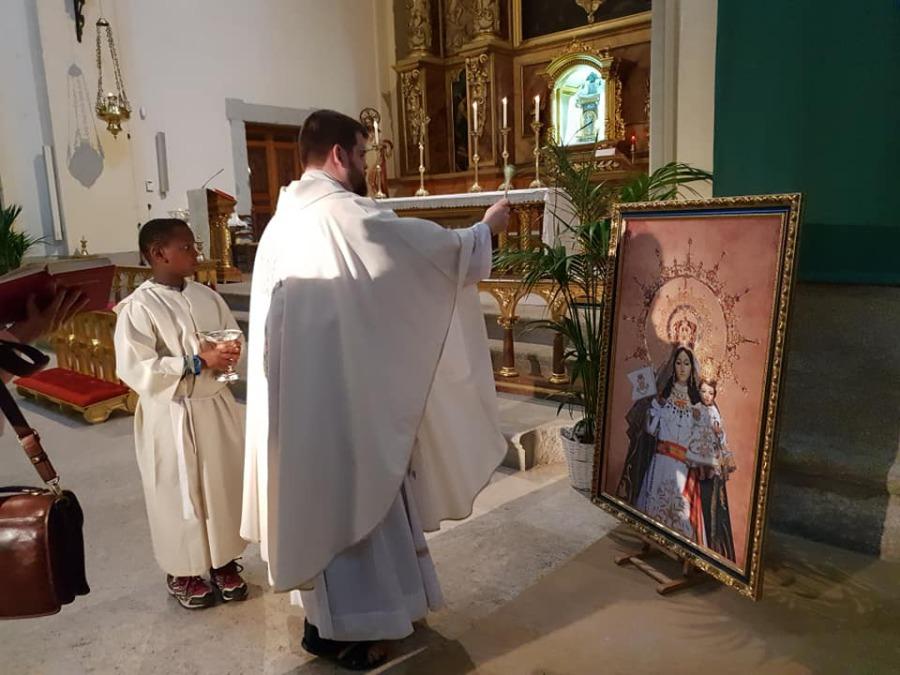 Restauración Virgen 2018